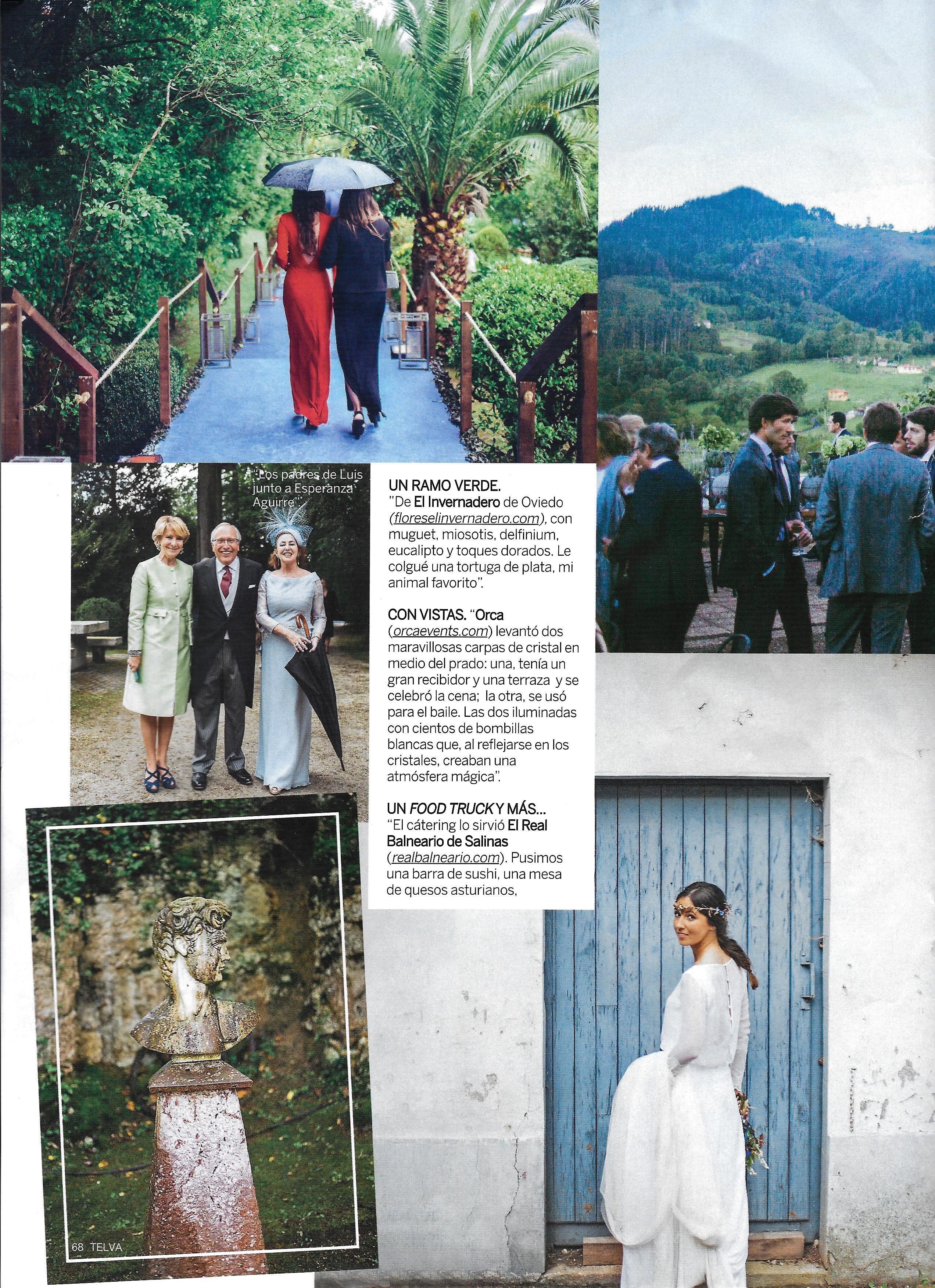 Una boda de cuento de hadas en Telva Novias